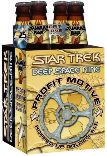 schmaltz profitmotive 343x500 Shmaltz Profit Motive Beer Launched At STLV To Celebrate 'Star Trek: Deep Space Nine'