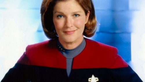 CaptainJaneway1 500x283 Kate Mulgrew wants to return to her role as Janeway in a movie with Kirk and Picard